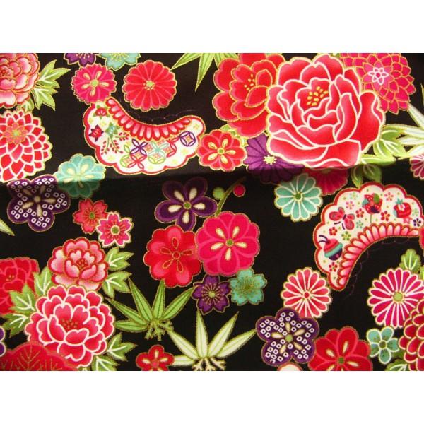 Coupons tissus japonais 50 x 50