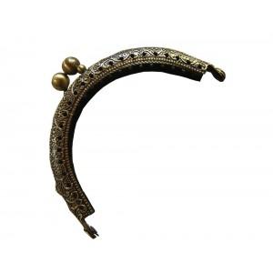 fermoir porte monnaie 8.5cm (doré antique)