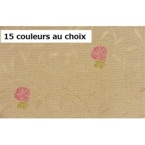 SC1 : Tissu 140L ANCOLIE (15 couleurs au choix) fleurs
