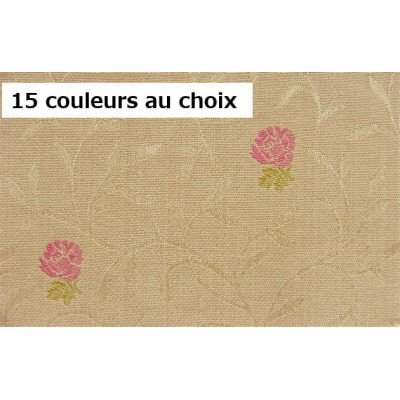 SC2 : Tissu 140L ANCOLIE (15 couleurs au choix) fleurs