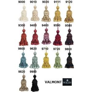 SC2 : HOULES Gland de clé pompon VALMONT (17 couleurs au choix)