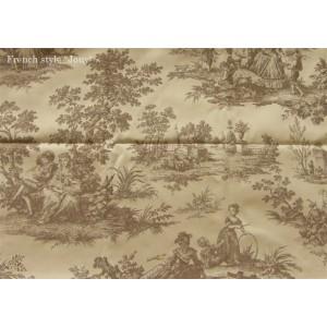 SC2 : Tissu 138L Tolbiac (beige) par 50cm