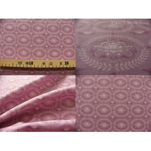 coupon de tissu TILDA 70x50 Lily fond mauve