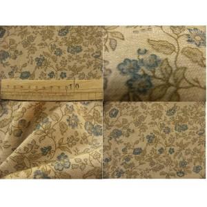 tissu coupon / par 50cm : ANGELE chambray bleu