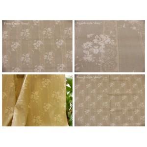 tissu coupon / par 50cm : ELSA beige