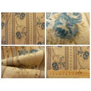 tissu coupon / par 50cm : EVA chambray bleu