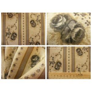 tissu coupon / par 50cm : EVA chambray gris
