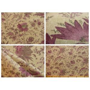 tissu coupon / par 50cm : SATI chambray violet