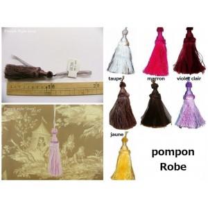 Pompon Robe (6 couleurs au choix)