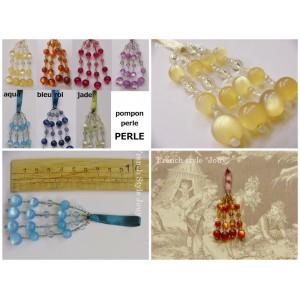 Pompon perle Perle (7 couleurs au choix)