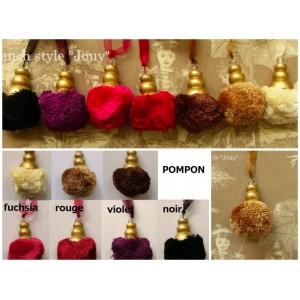 Pompon Pompon (7 couleurs au choix)