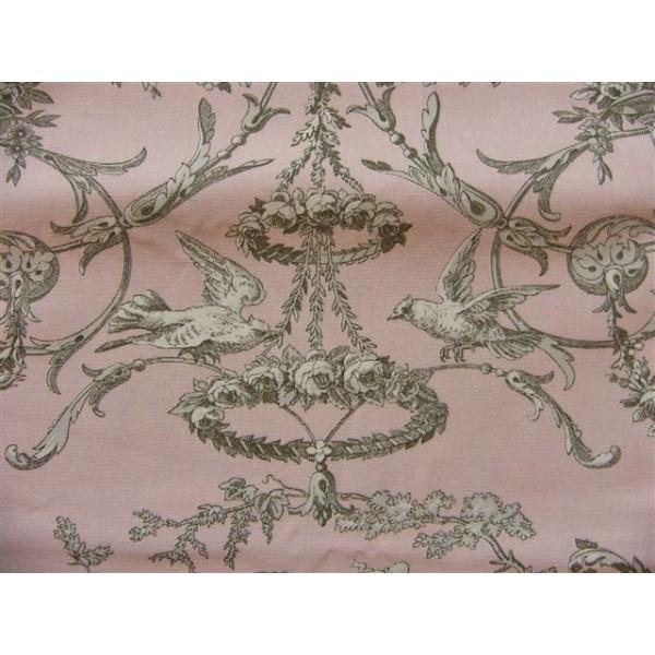 tissu toile de jouy tissu d 39 ameublement tissu coupon au m tre. Black Bedroom Furniture Sets. Home Design Ideas