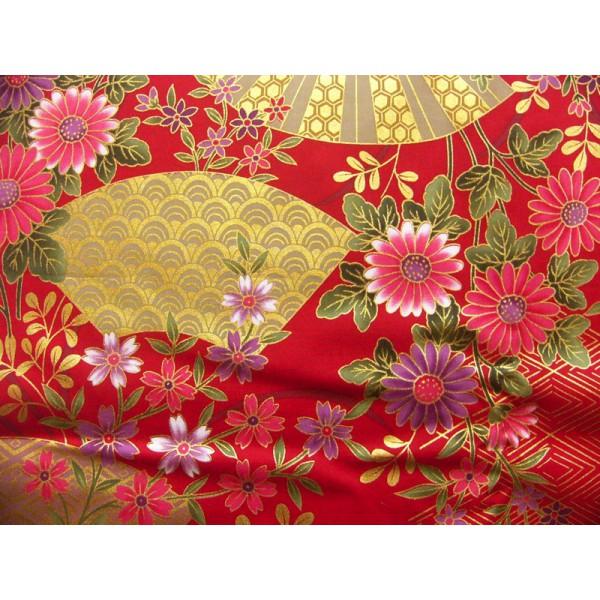 Coupons de tissus japonais