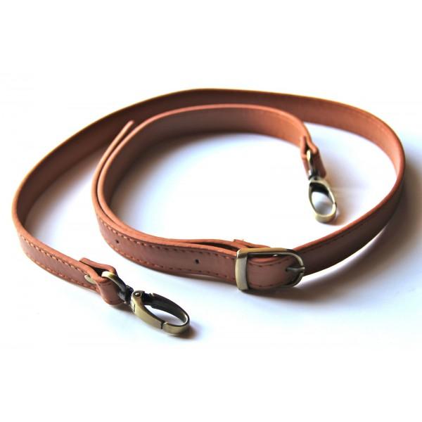 4a3c55bcf3873 ... Anse de sac bandoulière réglable en cuir synthétique 95-110cm ( camel )  ...