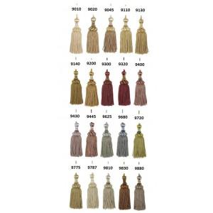 SC1 : HOULES Gland de clé pompon VENDOME (20 couleurs au choix)