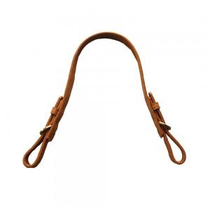 une anse de sac cuir synthétique réglable 47-52cm (camel)